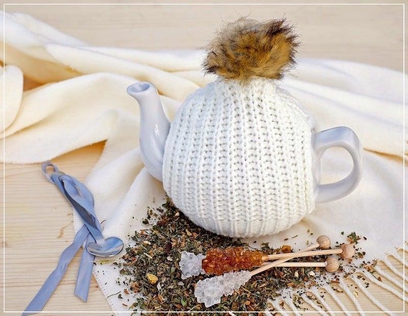 заваривается травяной чай