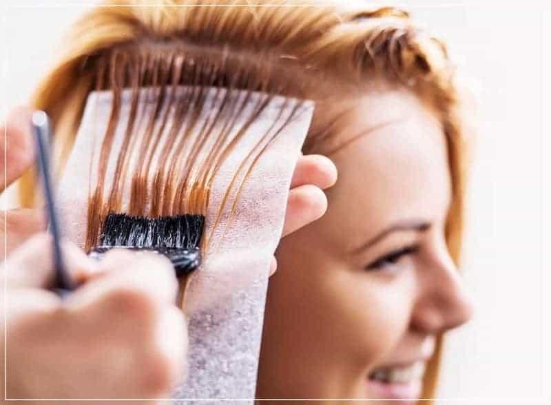 окраска седых волос