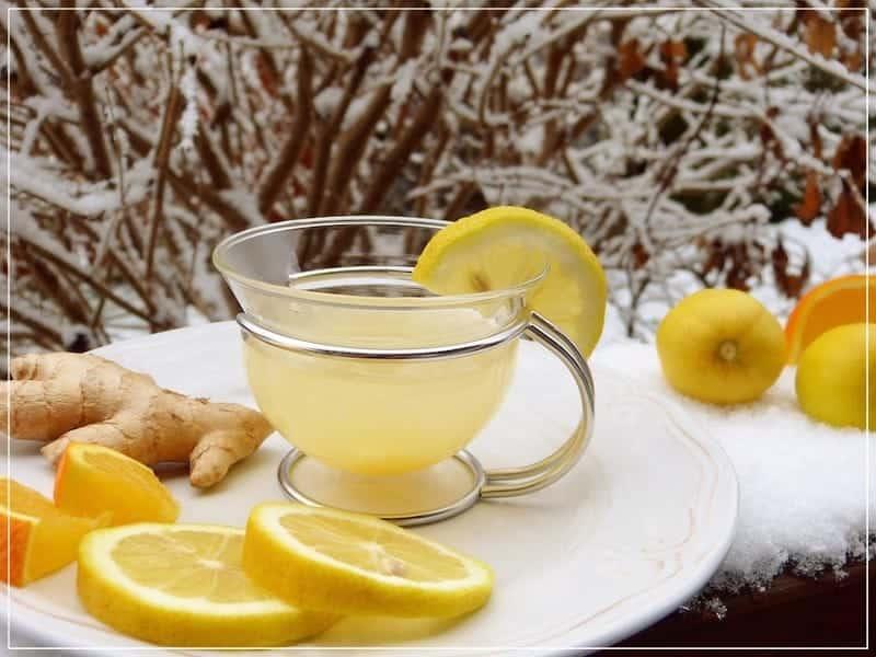имбирь и лимон при простуде