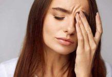 блефарит у девушки — болят глаза