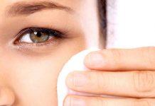 ватный диск для промывания глаз