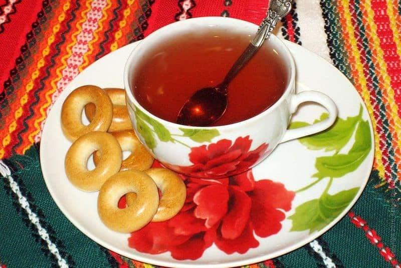 шашка с чаем