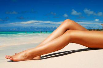 красивые ноги девушки