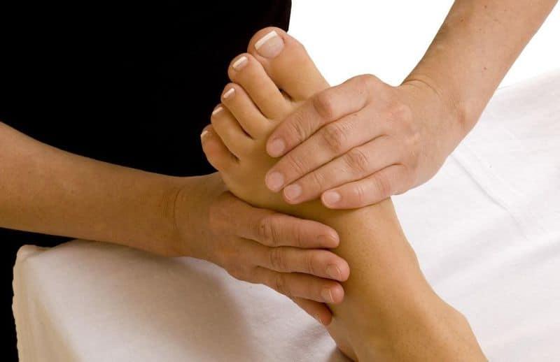 массаж ног при подагре