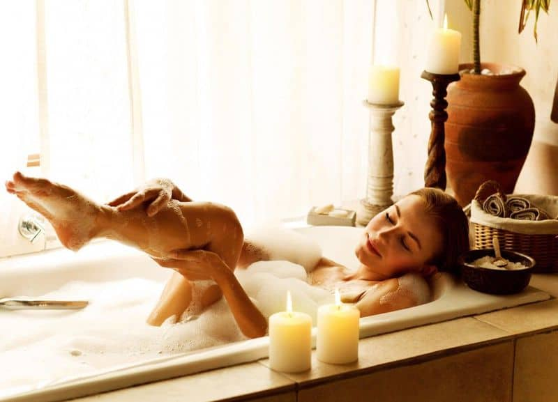 ванна в спа процедурах