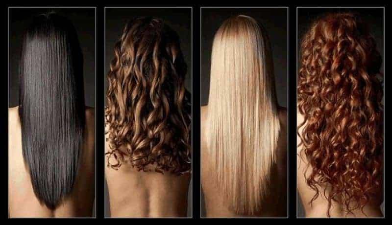 четыре девушки с шикарными волосами