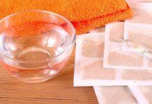 полотенце, градусник, горчичники, вода