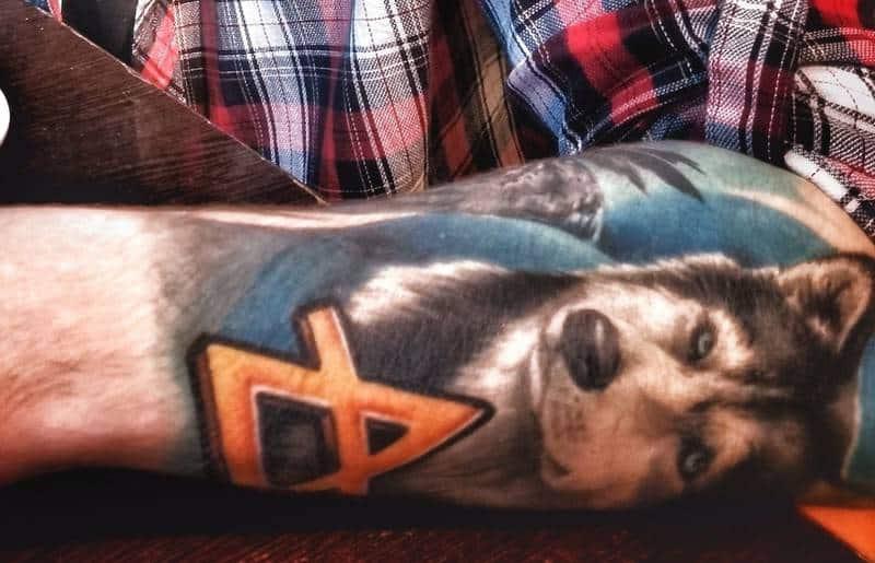 Временная татуировка своими руками в домашних