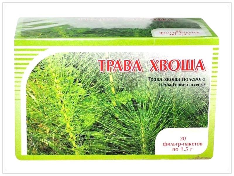 пакетики с травой хвоща