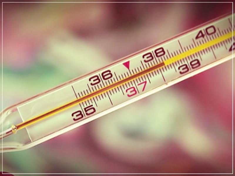 высокая температура
